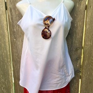 Loose White Cool Top